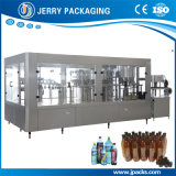 Suco do frasco do animal de estimação e máquina tampando de enchimento de lavagem da água mineral