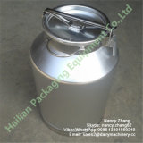 Logo Stickerの最も安いPrice Aluminum Milk Bucket Can