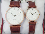 Simple Design Japan Movement Couple Gift Watch