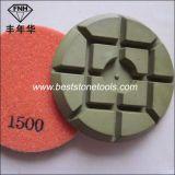 크롬 14 지면 닦는 기계 (80/100X10mm)를 위한 구체적인 다이아몬드 지면 패드