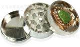 Alta qualidade moedor do fumo da liga do zinco do moedor do tabaco do metal de 3 camadas