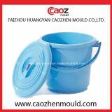 ハンドルが付いている良質か世帯のプラスチックバケツ型