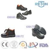 Best-Selling Gespleten Schoenen van de Veiligheid van het Leer Comfortabele