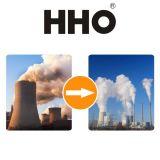 Generador del hidrógeno para las calderas con carbón