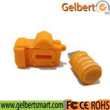 Azionamento su ordinazione della penna del USB della macchina fotografica di gomma del PVC per la promozione