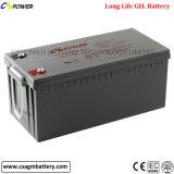 батареи геля глубокого цикла 12V 200ah солнечные для Пакистана