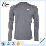 Usage gris sexy de forme physique de chemises de couleur d'homme