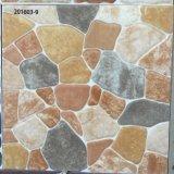 Mattonelle di pavimento di ceramica rustiche quadrate simili di pietra smerigliatrice della stanza da bagno