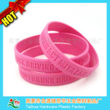 Cheap variopinto Silicone Bracelet con Debossed (TH-6152)