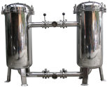Tipo carcaça do saco do aço inoxidável de Yl-2-219 Dn65mm de filtro