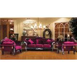 Sofà di cuoio per la mobilia del salone e la mobilia dell'hotel (987A)
