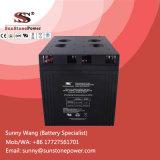 Tipo profundo bateria do gel do ciclo 2V 2000ah de armazenamento da potência