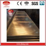 Los paneles de pared de acero de aluminio de la placa de aluminio de la hoja 4X8 (JH145)