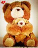 Giocattolo molle della peluche del burattino dell'animale domestico della pelliccia dell'animale farcito dell'orso dell'orsacchiotto