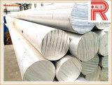 6063 palanquillas de aleación de aluminio / aluminio redondas