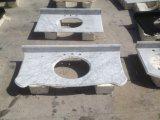 Tapa de piedra al por mayor de la vanidad de la piedra del cuarzo del mármol de la encimera