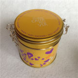 コーヒーパッケージの円形の容器のための円形の昇進の錫ボックス