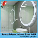 specchio a doppio foglio dello specchio di 3.7mm dello specchio d'argento di /Bathroom/specchio verde della vernice