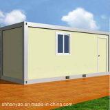 단 하나 두 배 강철 구조물 침실 콘테이너 집