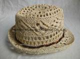 Шлем сторновки Fedora 100% бумажной сплетенный рукой