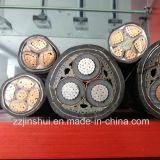 Твердый сердечник или плотно отжатый кабель Twisted ленты бронированный XLPE проводника участка внутренней стальной