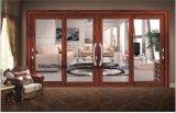دار عرضيّ ضوء يلوّن زجاجيّة ألومنيوم [ويندووس] وأبواب