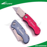 Cuchillo Pocket plegable negro del cortador