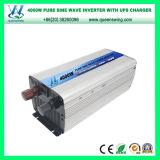 inverseur pur de l'onde sinusoïdale d'UPS 4000W DC72V avec le chargeur (QW-P4000UPS)
