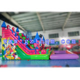 膨脹可能なWater SlideかInflatable Swimming Pool Water Slide