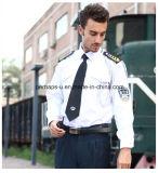 均一長い袖の機密保護の摩耗を働かせている有用な良質の人