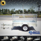 750kgs Small Truck Trailer in Steel Plant