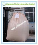 밧줄 모래 시멘트를 위한 베이지색 색깔을%s 가진 드는 톤 부대 부피 부대