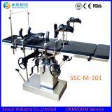Mesa de operaciones de múltiples funciones ortopédica quirúrgica Radiolucent manual