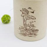Crisol exquisito del té con el modelo y la tapa