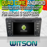 Witson S160 para Mazda 3 2004-2009 coche DVD GPS Player con Rk3188 Quad Core HD 1024X600 Pantalla 16 GB Flash 1080P WiFi 3G frontal DVR DVB-T Mir-Link Pip (W2-M161)