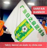 Напольное выдвиженческое высокое качество резвится флаг, рекламируя флаг