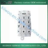 L'Eco-Ami a personnalisé des boutons de clé de poussée en caoutchouc de silicones