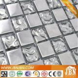 Sala de TV Muro de aço inoxidável e mosaico de vidro (M855090)