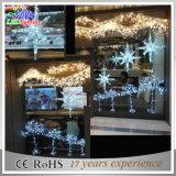 옥외 장식적인 철사 훈장 LED 크리스마스 별 끈 빛