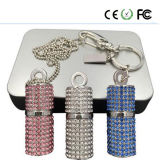 Jóias Material Diamante Crystal USB Flash Drive OEM