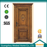Porta da melamina para o quarto interior com projeto personalizado (WDP1024)