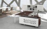 Projeto de madeira da tabela do escritório da qualidade a mais atrasada com pés do metal (SZ-OD486)