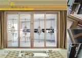 Openslaand raam van het Aluminium van de Onderbreking van de dubbele Verglazing de het Thermische/Vensters van het Aluminium