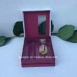 Rectángulo del conjunto del papel del perfume de la dimensión de una variable del libro con la ventana del PVC