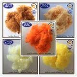 Migliore fibra di graffetta di poliestere di qualità PSF usata per i fili di cotone