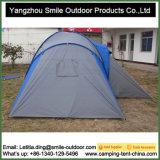Barraca de acampamento ao ar livre da família de 2 quartos da inspeção do QC de 6 pessoas