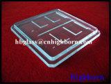 A pureza elevada personaliza o laser que sulca a janela de vidro de quartzo do silicone