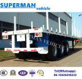 Semi Aanhangwagen van het Vervoer van het nut de Houten voor de Houten Lading van het Hout
