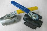Valvola a sfera ad alta pressione d'acciaio forgiata dell'interruttore ed avvitato