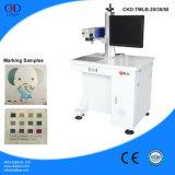 De Laser Mopa die van uitstekende kwaliteit Machine merken die op de Kleur van het Metaal merken